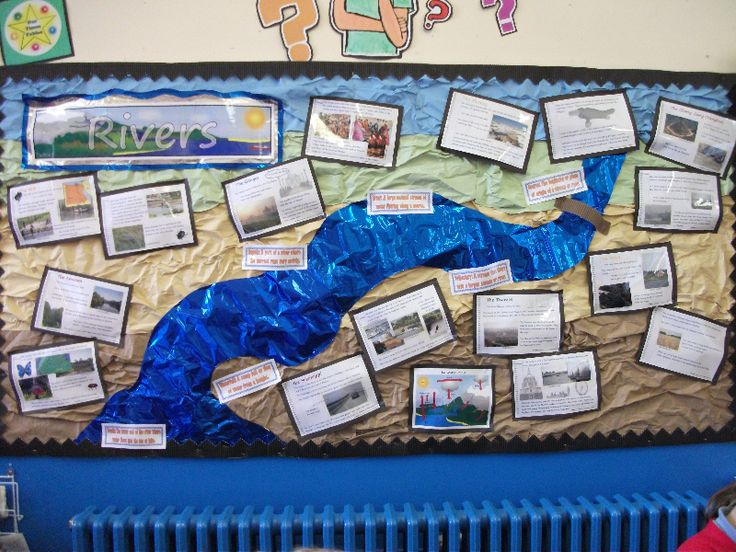 Rivers classroom display photo - Photo gallery - (print out river info) IPC Go With the Flow