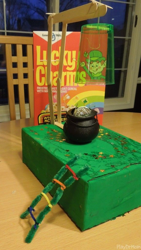 St. Patrick's Day activities for kids, including a Leprechaun Trap