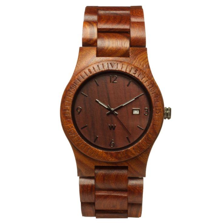Relógio de Madeira Woodz Maple - http://woodz.com.br/relogios/relogio-de-madeira-natura-verde-2781.html