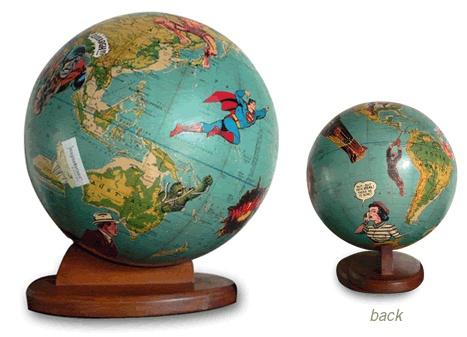 a superman globe... yes... I need one