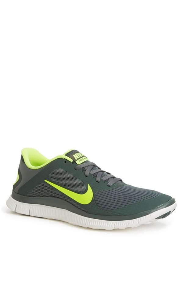 Neon Nike Free men\u0027s running shoe Want!