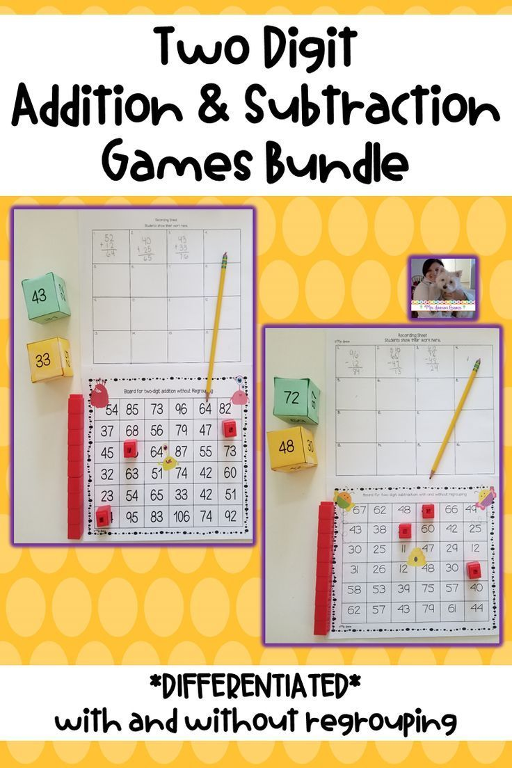Pin On Innovative Math Teaching Ideas Adding and subtracting games for