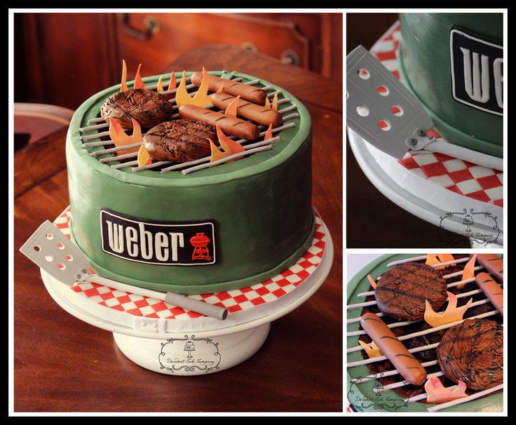 Barbecue Cake - Weber Grill
