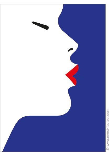 http://www.merci-facteur.com/carte-coeur.html #carte #StValentin #amour #love #Valentinsday #iloveyou #coeur #SanValentin #amor #Jetaime #Tequiero Carte Le baiser d'une femme pour envoyer par La Poste, sur Merci-Facteur !