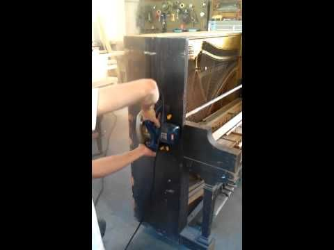 ▶ How to Dismantle an Upright Piano - YouTube