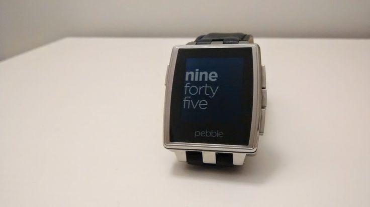 """geek o NERD ?: pebble """"steel"""" primo avvio, configurazioni e pebble app"""