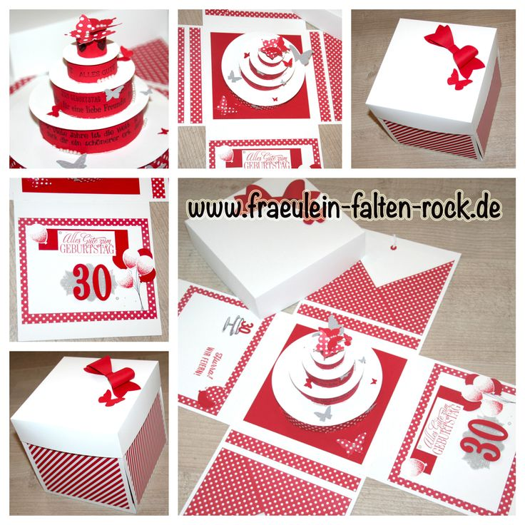 1000 images about stampin up verpackung explosionsbox auf pinterest selbstgemacht torte. Black Bedroom Furniture Sets. Home Design Ideas