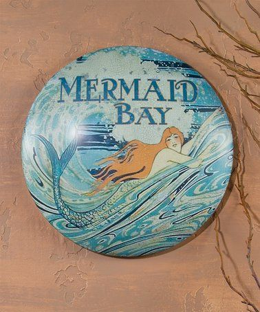 This 'Mermaid Bay' Sign is perfect! #zulilyfinds