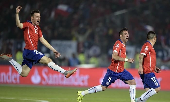 Congratulations Chile! Copa America 2015 Winners!