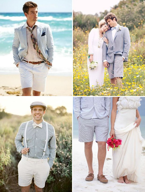 Stylish Summer Groom Ideas - Shorts | www.onefabday.com