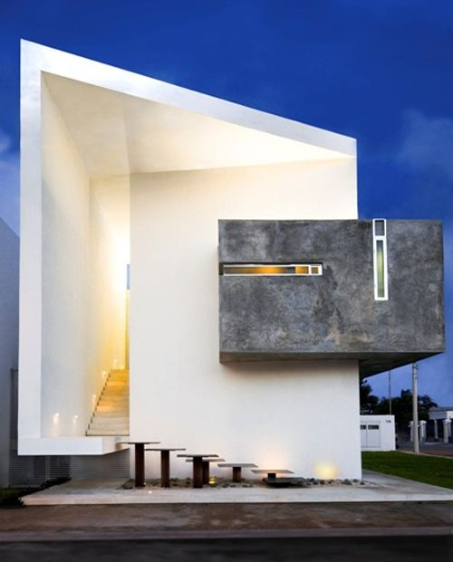 3435 best images about modern villas on pinterest house for Minimalist residential architecture