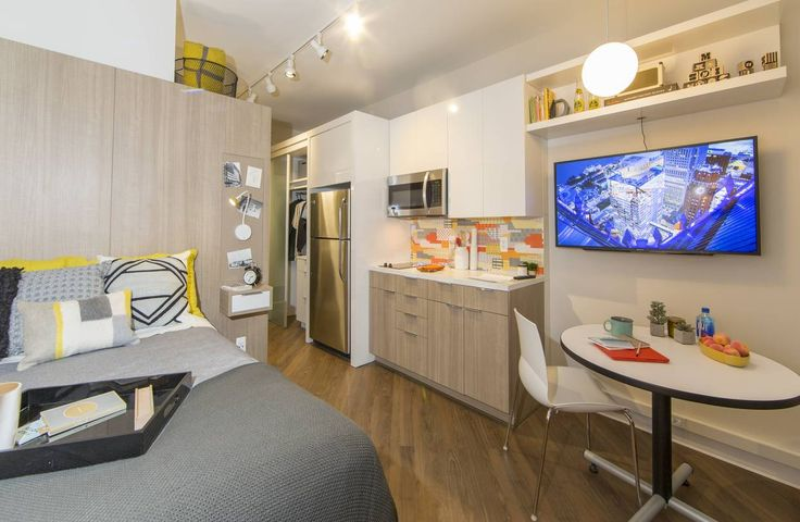 Bedrock's micro lofts in Detroit are small, but Dan Mullen, president at Bedrock, said the...