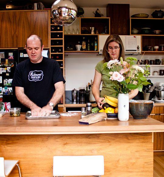 Jennifer and Jason's Earthy Kitchen - Portland kitchen.