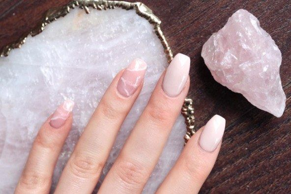Crystals Have Officially Come for Our Nails, and We're Not Mad at It