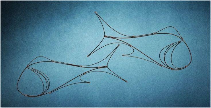 ShadowFish - En håndlavet uro - Dansk design. Produceres af Peter Gilbert Jespersen. ShadowFish uroerne laves i 6 størrelser og 2 farver. En uro der skaber ro og balance.