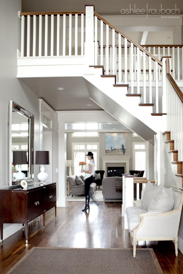 Open Foyer Quiz : Best images about home banister stairs on pinterest