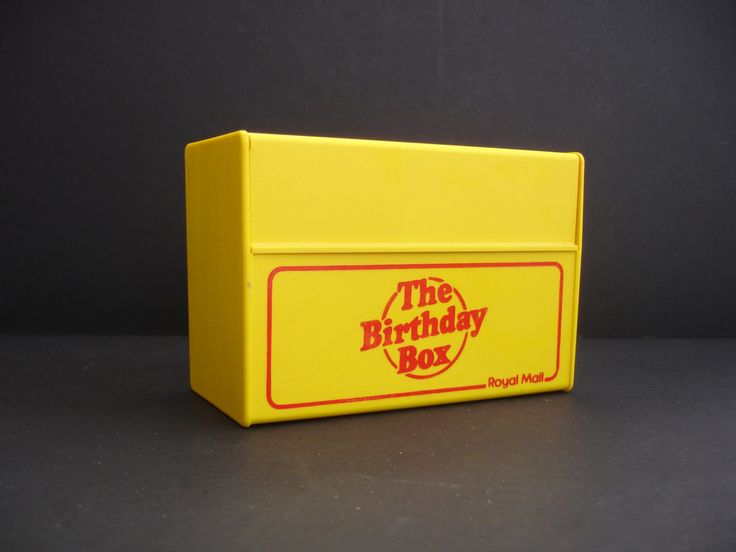 1970s The Birthday Box by the Royal Mail  Index Cards Birthday Dates  Address Cards by FillyGumbo on Etsy