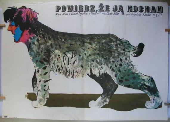 French movies 1977s  Diteslui que je laime original by artwardrobe, $19.99