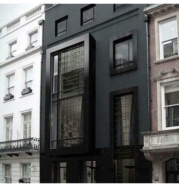 The Black House My Dream House Pinterest Black House