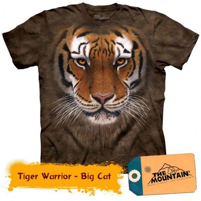 Tricouri The Mountain – Tricou Tiger Warrior