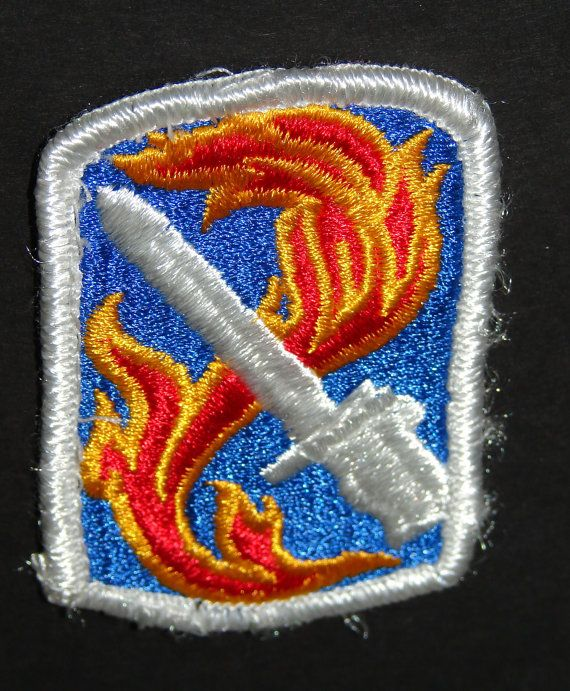 198th Light Infantry Brigade United States Army Patch Shoudler Patch Collectible to wear or us as a prop or just collect  http://www.rarevintagecollectibles.com