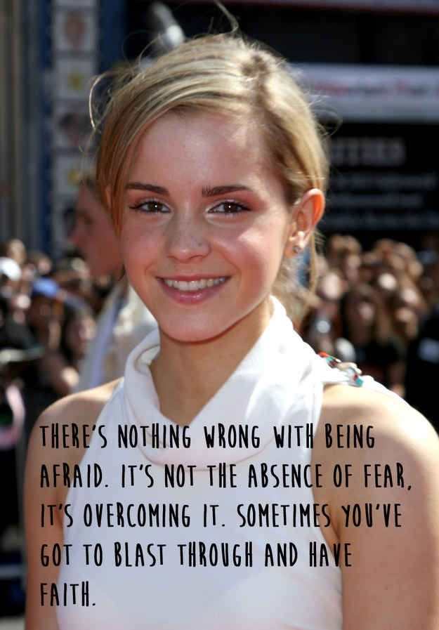 See? | 21 Amazing Emma Watson Quotes That Every Girl Should Live Their Life By