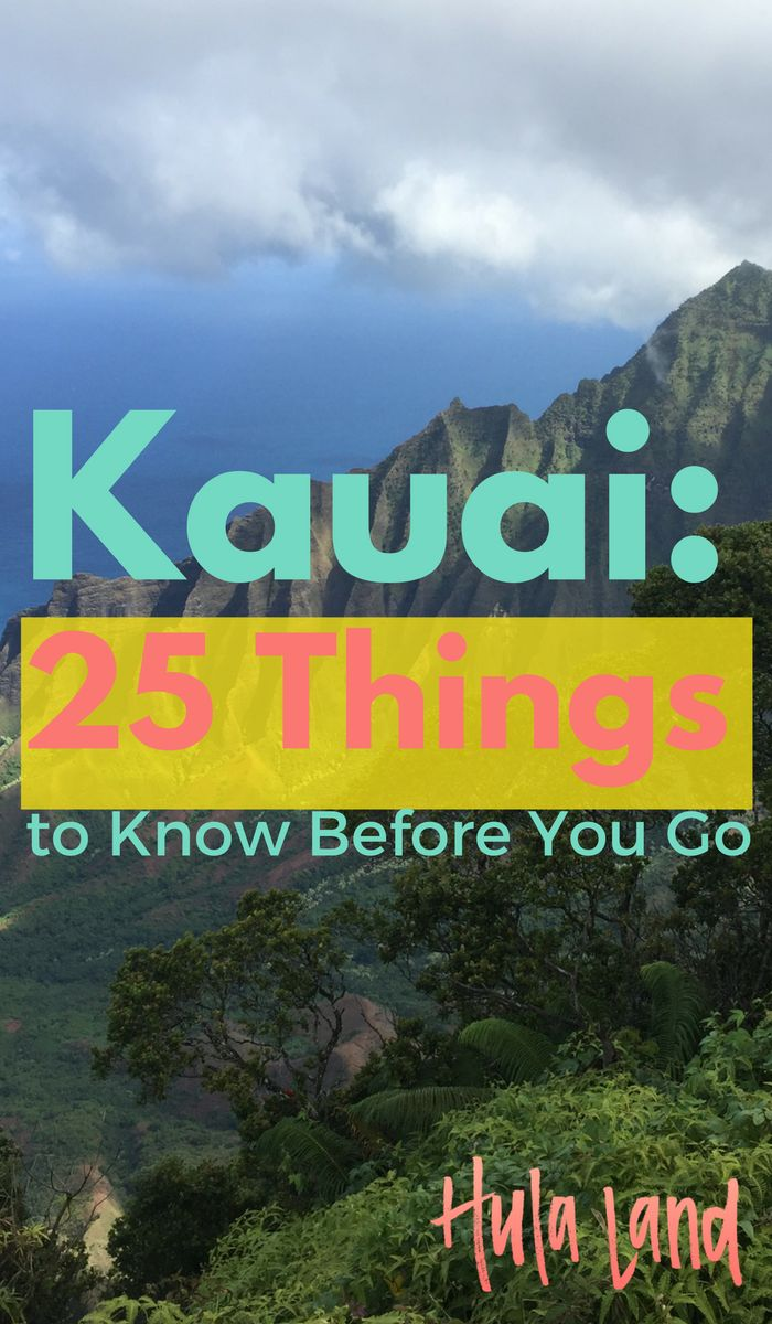 Here's everything you need to know about Kauai BEFORE you go!