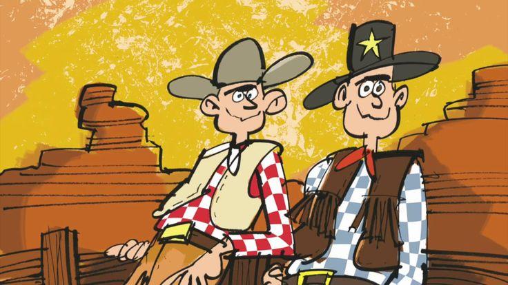 Begin de dag met een dansje - versie western