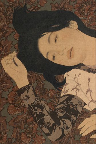 flowers,illustration,japanese,painting,japan-c476c67b460565eb977ce3fd4de88acb_h.jpg (336×500)