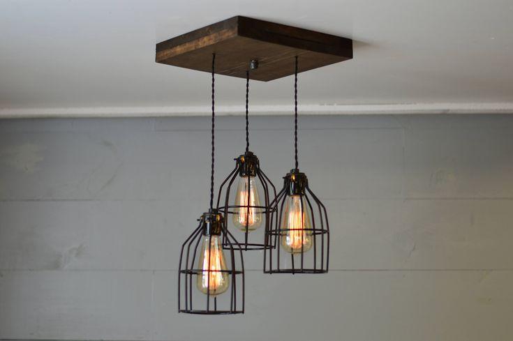 Reclaimed Wood - Chandelier - Light Fixture - Farm Light - Country Lighting - Ceiling Light Fixture - Ceiling Decor - Boho Chic - Boho by UnionHillTradeCO on Etsy https://www.etsy.com/uk/listing/527416725/reclaimed-wood-chandelier-light-fixture