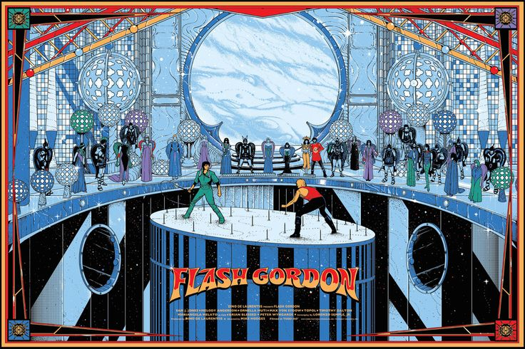 Flash Gordon by Kilian Eng – Mondo