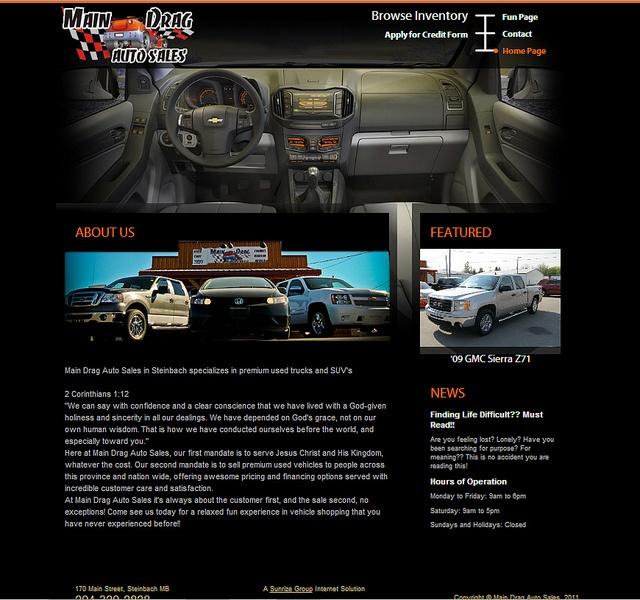 Main Drag Auto Sales by SunrizeGroup,  http://sunrize.bix
