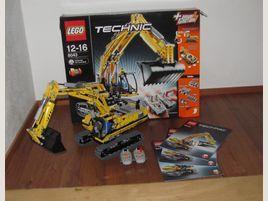 Lego Technic 8043 RC Bagger, BA und OVP