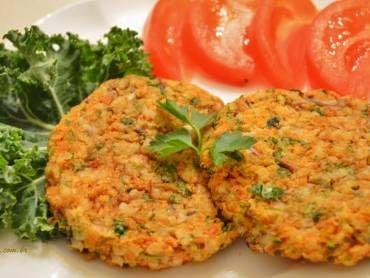 Receita de Hambúrguer de cenoura - Tudo Gostoso