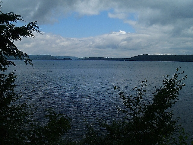 Lake Memphremagog. Magog, Quebec. Wish I was there right  now.  Love it. My bit of heaven