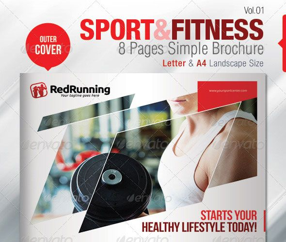 38 best Inspiration poster images on Pinterest Brochure design - Gym Brochure Templates
