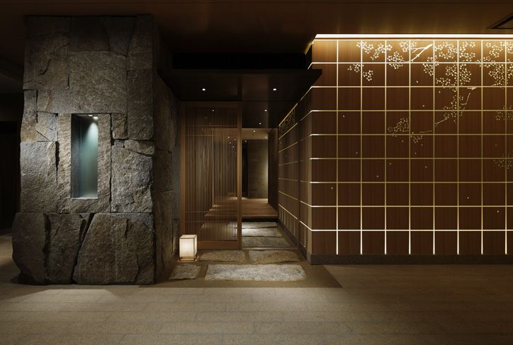 Aoyama nomura design palace hotel wadakura for Design hotel tokyo