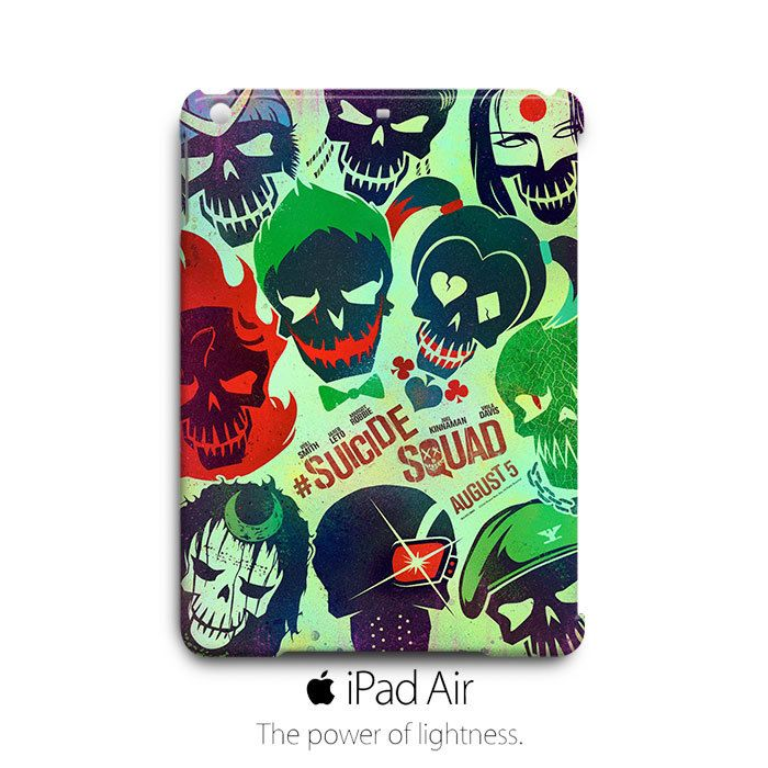 Suicide Squad iPad Air Case Cover Wrap Around