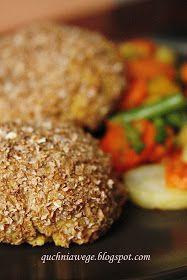 QuchniaWege: Kotlety z ciecierzycy i kaszy jaglanej