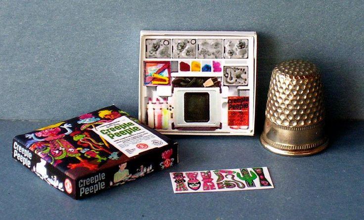 Dollhouse Miniature Creeple People Toy Box Thingmaker dollhouse toy 1:12 scale | eBay