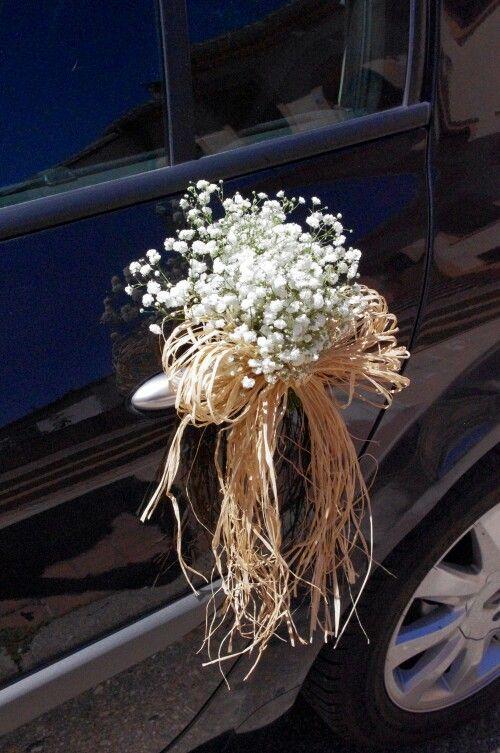 M s de 25 ideas incre bles sobre arreglos florales vintage en pinterest boda ikea fiestas - Decoracion coche novia ...