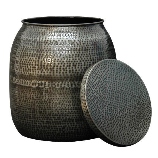 GST650Z Zinc Drum Stool
