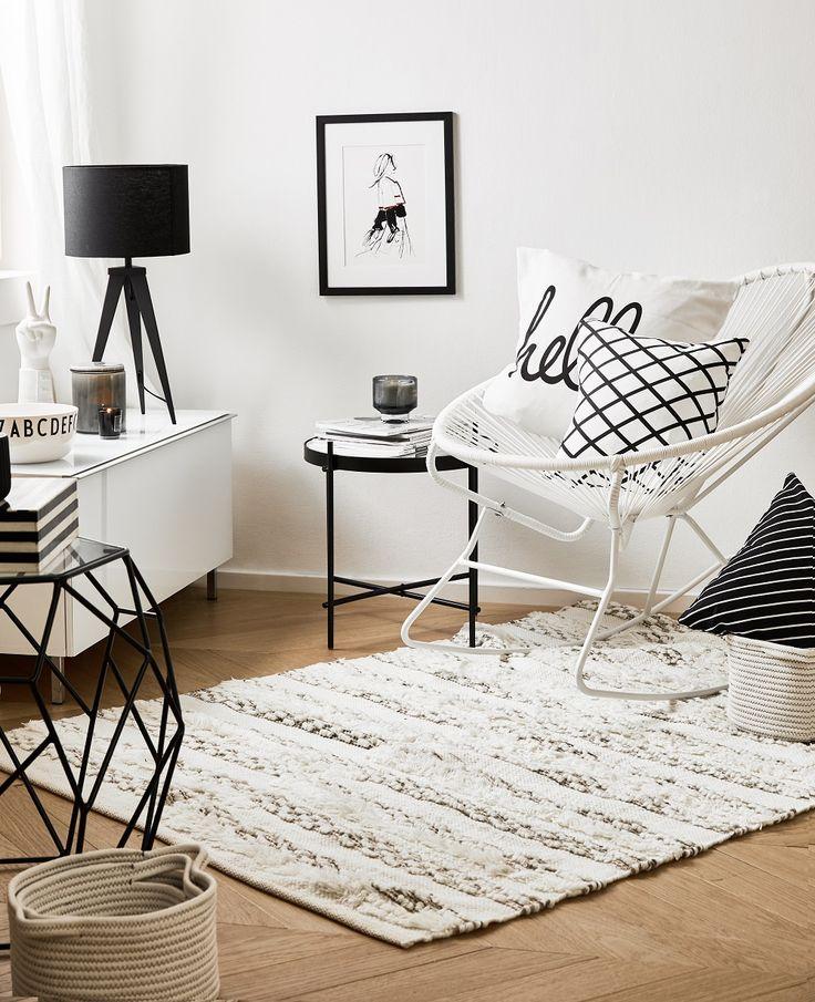 822 besten wohnzimmer skandinavisch bilder auf pinterest 1920er arredamento und badezimmer - Schaukelstuhl skandinavisch ...