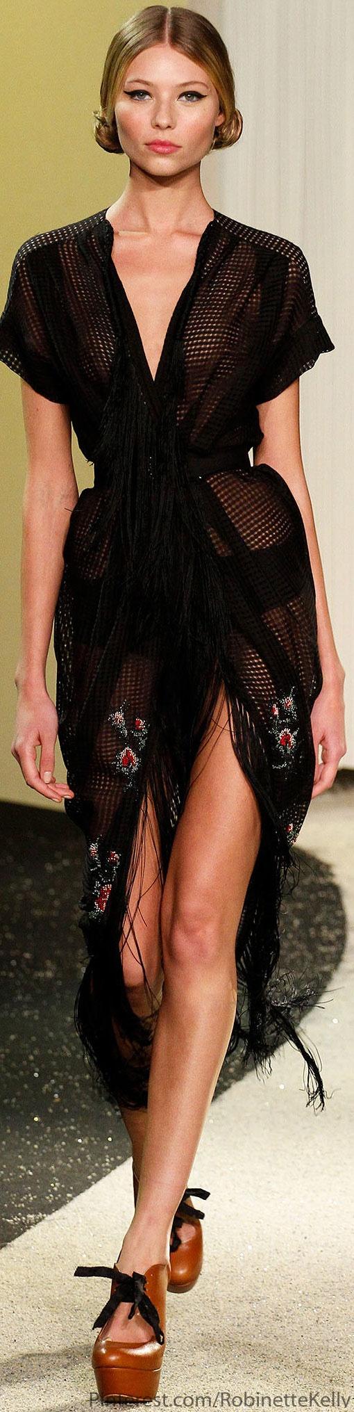 Curtains / Crochet Blanket Ulyana Sergeenko Haute Couture | S/S 2013
