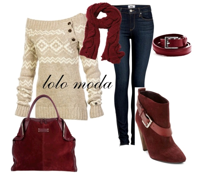 LOLO Moda: winter fashion 2013. Love it when things match impeccably. (: