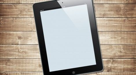 Free iPad vector template