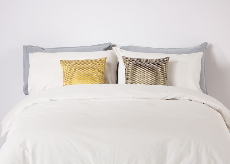 The New Neutral: Decorating With Natural tones In 2016 - Greige bedding from MADE.COM