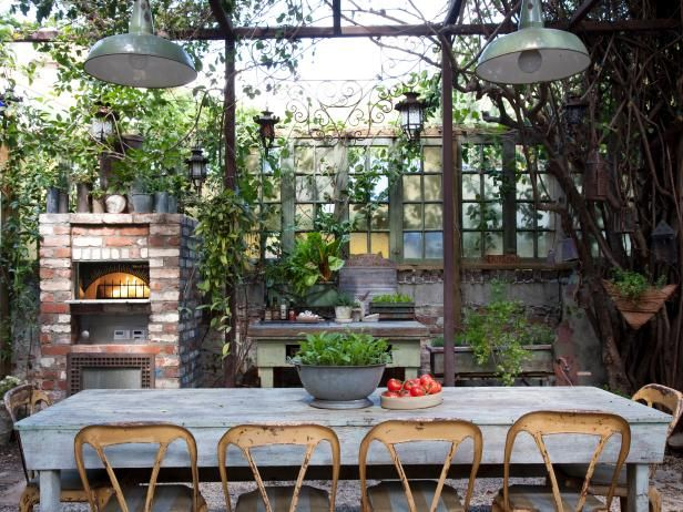 15 Outdoor Rooms for Entertaining | Outdoor Design - Landscaping Ideas, Porches, Decks, & Patios | HGTV