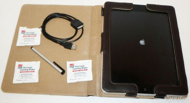 APPLE IPAD 1ST GENERATION MC497LL TABLET 64GB WIFI+3G USED WORKS GREAT! W/EXTRAS #Apple
