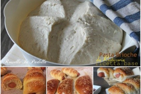 Pasta brioche da rosticceria – ricetta base